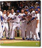 Colorado Rockies V Chicago Cubs 1 Acrylic Print