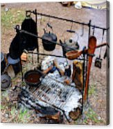 Cooking In The 1800s  Acrylic Print