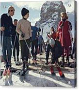 Cortina Dampezzo Acrylic Print