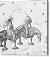 Cosmic Cowboys Acrylic Print