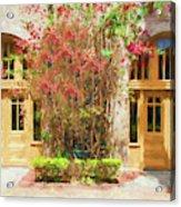 Courtyard Doors St Augustine 002 Acrylic Print