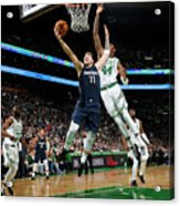 Dallas Mavericks V Boston Celtics Acrylic Print