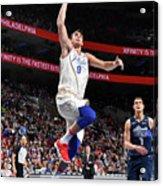 Dallas Mavericks V Philadelphia 76ers Acrylic Print