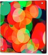 Defocused Lights Acrylic Print