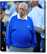 Divisional Round - Atlanta Braves V Los Acrylic Print