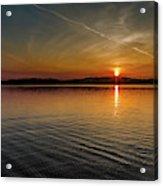 Dog Lake Sunset Acrylic Print
