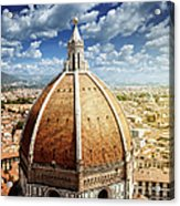 Duomo In Florence Acrylic Print