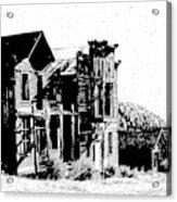 Elkhorn Ghost Town Montana Acrylic Print