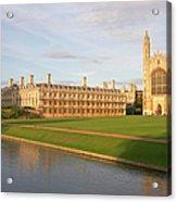 England, Cambridge, Cambridge Acrylic Print