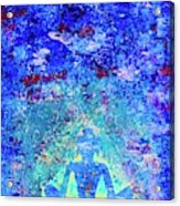 Enlightenment Blue Acrylic Print