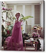 Eva Gabor Acrylic Print