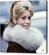 Files Pictures Of French Actress Acrylic Print