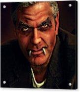 George Clooney Acrylic Print