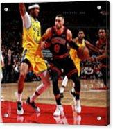 Golden State Warriors V Chicago Bulls Acrylic Print