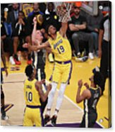 Golden State Warriors V Los Angeles Acrylic Print