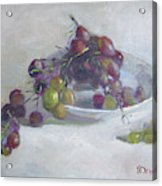 Greek Grapes Acrylic Print