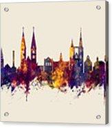 Halberstadt Germany Skyline Acrylic Print