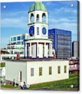 Halifax Town Clock 2017 Acrylic Print