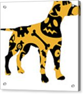 Halloween Dogg Acrylic Print