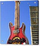 Hard Rock Cafe, Warsaw Acrylic Print