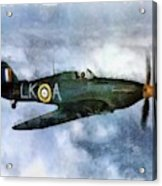 Hawker Hurricane, Wwii Acrylic Print