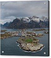 Henningsvaer Lofoten Acrylic Print