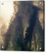 High Surf Explosion Acrylic Print