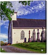Holy Cross Cemetery And Our Lady Of Sorrows Chapel Acrylic Print