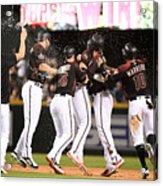 Houston Astros V Arizona Diamondbacks Acrylic Print