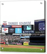 Houston Astros V New York Yankees Acrylic Print