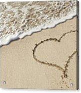 I Love The Beach Acrylic Print