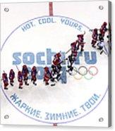 Ice Hockey - Winter Olympics Day 9 - Acrylic Print