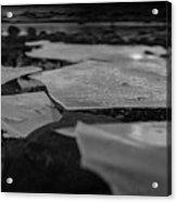 Ice Layer On The Seafloor Acrylic Print