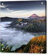 Indonesia Mount Bromo Acrylic Print