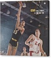 Iowa George Peeples, 1966 Holiday Festival Sports Illustrated Cover Acrylic Print
