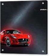 Jaguar F-type Acrylic Print