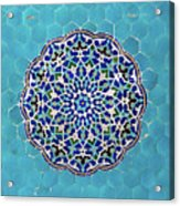 Jameh Mosque, Yazd, Iran Acrylic Print