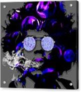Jimi Hendrix Purple Haze Acrylic Print