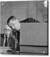Jimmy Hoffa Testifying Before Senate Acrylic Print