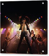 Judas Priest Album Cover Shoot Acrylic Print