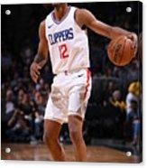 La Clippers V Denver Nuggets Acrylic Print
