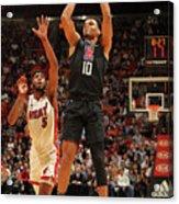 La Clippers V Miami Heat Acrylic Print