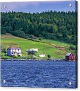 Lahave, Nova Scotia Acrylic Print