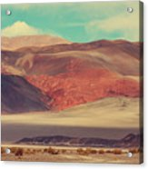 Landscapes Of Northern Argentina Acrylic Print