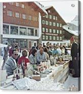 Lech Ice Bar Acrylic Print