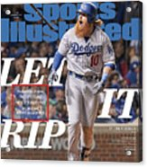Let It Rip 2017 World Series Preview Issue Sports Illustrated Cover Acrylic Print