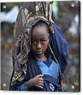 Liberia Battles Spreading Ebola Epidemic Acrylic Print