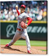 Los Angeles Angels Of Anaheim  V Acrylic Print