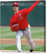 Los Angeles Angels Of Anaheim V Oakland Acrylic Print