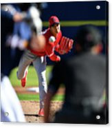 Los Angeles Angels Spring Training Acrylic Print
